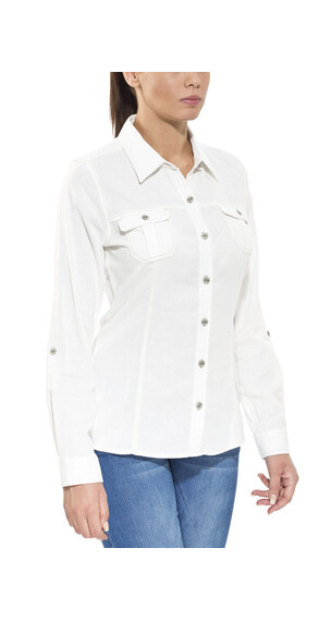 Royal Robbins Cool Mesh - Camisas de manga larga - blanco